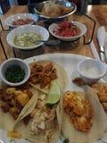 炸玉米饼墨西哥人食物 库存照片