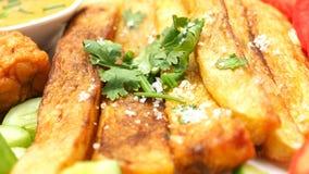 炸薯条充分的框架 库存照片