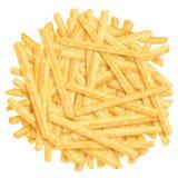 炸薯条堆 免版税库存图片