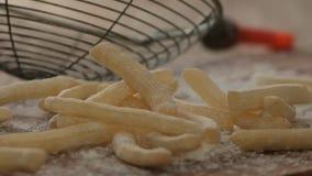 炸薯条用面粉 影视素材