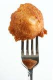 炸薯球垂直 库存图片