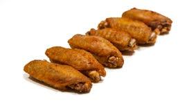炸鸡开胃菜 免版税库存图片