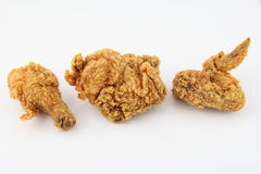 炸鸡 库存图片