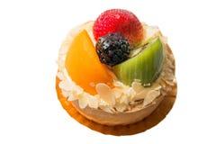 点心果子馅饼被分类的热带水果 图库摄影