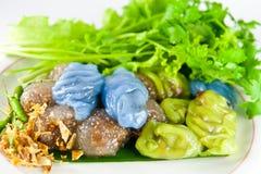 点心泰国猪肉的西米 库存照片