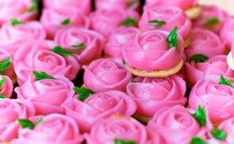 点心淡粉红色为情人节 图库摄影