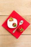点心用成熟草莓 库存照片