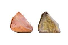 点心被充塞的面团金字塔 免版税库存图片