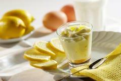 点心Al limone 免版税库存图片