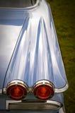 点燃减速火箭的尾标 图库摄影