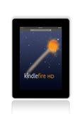 点燃从亚马逊的火HD 向量例证