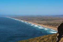点雷耶斯海滩,加利福尼亚 免版税库存照片