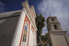 12点活字的, atacama,辣椒教会, 图库摄影