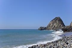 点Mugu,加州 免版税库存图片