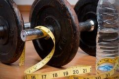 锻炼和健康饮食 免版税库存照片