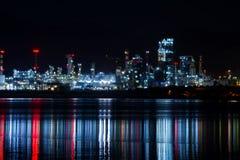炼油厂工厂 免版税库存图片