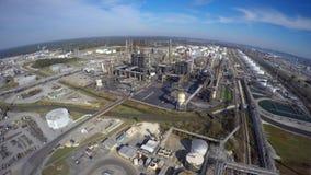炼油厂空中寄生虫录影 股票视频