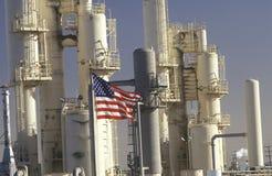 炼油厂,加州 免版税库存图片