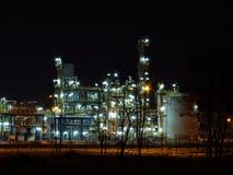 炼油厂 免版税图库摄影