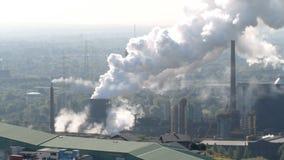 炼焦厂在博特罗普,德国繁荣 影视素材