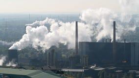 炼焦厂在博特罗普,德国繁荣 股票视频