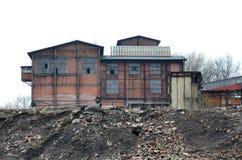 炼焦厂,波兰 库存图片