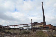 炼焦厂,波兰 库存照片