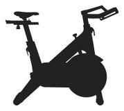 锻炼脚踏车象 库存例证