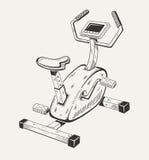 锻炼脚踏车 运动器材 库存照片