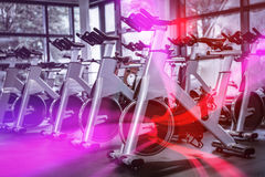 锻炼脚踏车 库存照片