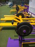 锻炼设备 免版税图库摄影