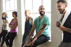 锻炼锻炼健身健康概念 库存图片