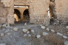 烈士堡垒的废墟 免版税库存照片