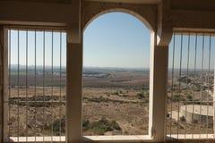 烈士堡垒的废墟 图库摄影