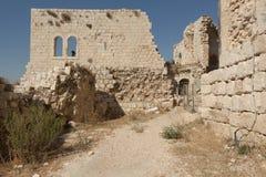 烈士堡垒的废墟 库存照片