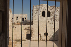 烈士堡垒的废墟 免版税图库摄影