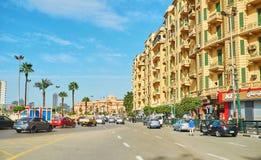 烈士广场在开罗,埃及 免版税库存图片