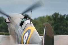 烈性人英国战斗机 库存照片