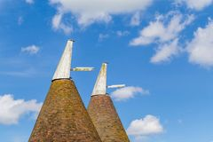 烘干室在苏克塞斯,英国 免版税库存照片