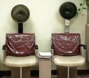 烘干机头发 库存照片