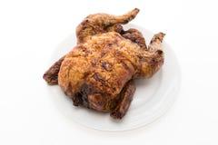 烘烤和格栅鸡肉 免版税图库摄影