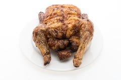 烘烤和格栅鸡肉 免版税库存照片