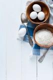 烘烤和烹调背景 图库摄影