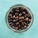 烘烤咖啡豆 免版税库存照片