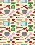 烘烤模式无缝的工具 库存照片