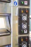 烘烤烤箱控制板  库存图片