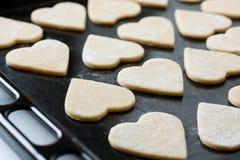 烘烤甜酥饼干 免版税库存图片
