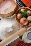 烘烤的煮熟的膳食 免版税库存照片
