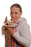 烘烤的蛋糕 免版税库存照片