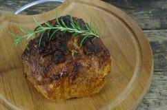 烘烤红色牛肉肉 图库摄影
